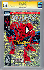 SPIDER-MAN #1 CGC-SS 9.6 <> PLATINUM EDITION SIGNED BY TODD MCFARLANE <> 1990