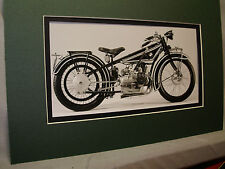 1923 BMW R32 German    Motorcycle Exhibit From Automotive Museum