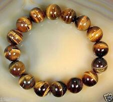 Natural8mm African Tiger's Eye Gem Beads Bracelet