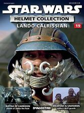 Star Wars Helmet Collection Lando Calrissian Issue 19  #SW21 - Very Good