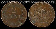 Haïti 2 Cents 1886A Superbe