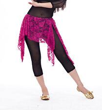 New Belly Dance Costume Tribal Lace Waistline Hip Scarf wrap Belt Skirt 13 color
