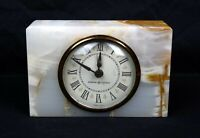 Vintage GE General Electric Alarm Clock Marble Slab Desktop Works