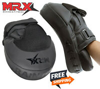 MRX Gel Focus Pad Hook & Jab Mitt Boxing Punching Glove MMA Kickboxing Muay Thai