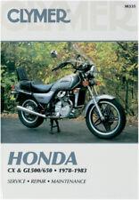 Clymer Repair Manual Fits: Honda CX650C Custom,GL650 Silver Wing,GL650I M335