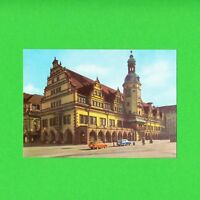 Ansichtskarte DDR Messestadt Leipzig Altes Rathaus