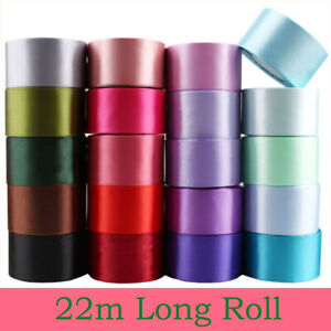 5cm Wide DIY Wedding Car Ribbons Ceremony Gift Cake Decorations Accessory Decor