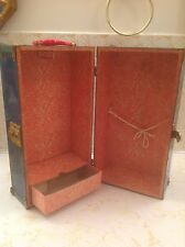 Doll Box/Case Metal with handle