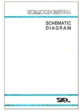 SIEL ORCHESTRA ARP QUARTET Service Manual Schematic Diagrams Schaltplan Schema