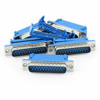 5Pcs Parallel Port DB25 Male IDC Crimp Connector for Flat Ribbon Cable