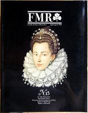 Rivista FMR #15, Luglio/Agosto 1983, Ed. Franco Maria Ricci