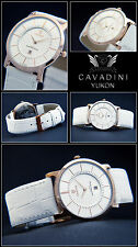 Classic Moments Luxury Cavadini Unisex Watch Ip Rose Gold Plated