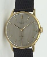 Rare Patek Philippe 3425 18K Yellow Gold Automatic Watch Vintage 1960's