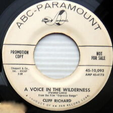 CLIFF RICHARD promo 45 Voice in the Wilderness~Don't Be Mad at Me ABC Param M385