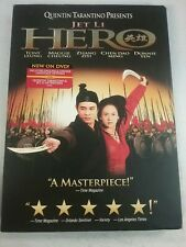 Hero (Dvd, 2002) By Quentin Tarantino Jet Li L119