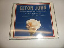 CD   Elton John  – Something About The Way You Look Tonight / Candle In The Win