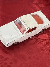 """Vintage 1966 LESNEY Matchbox Series No. 8 FORD MUSTANG """"Fastback"""" White Red Car"""
