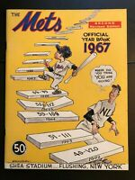 1967 New York METS  2nd Revised Edition Yearbook-HIGH GRADE MINT CONDITION