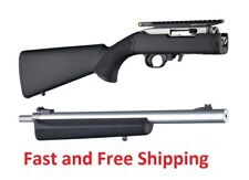 """Ruger 10/22 Overmoulded Stock for Takedown 920"""" Bull Barrel Black Hogue 21050"""