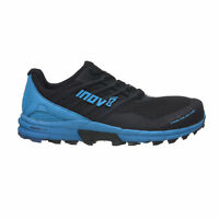 Inov8 TRAILTALON 290 Mens Black Lace up Trail Running Gym Shoes Trainers