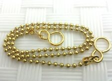 Basin/Sink Ball *Plug Chain Polished Brass Type :-  450Mm 18 Inch Long