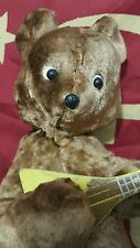 VINTAGE BEAR WIND UP TOY BALALAIKA MANDOLIN GUITAR USSR RUSSIA SOVIET ERA