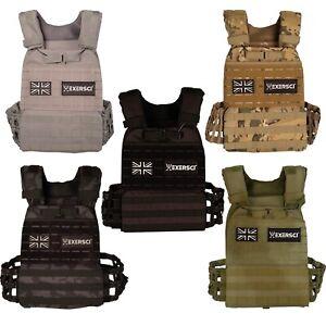 Exersci - Weighted Tactical Vest Crossfit Training Vests (1.5kg - 15kg)