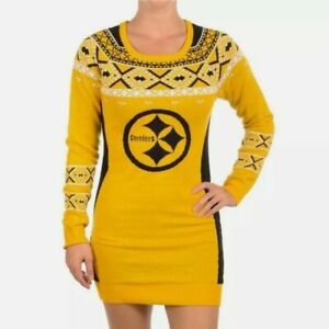 NFL Pittsburgh Steelers Womens Sweater Dress - size M - BRAND NEW WITH TAGS .