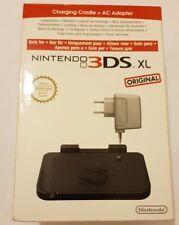 Base de cargar+cargador 3DS XL NUEVO/ORIGINAL compatible:3DS,DSi ,DSi XL sellado