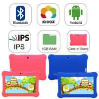 """7"""" Android 4.4 Tablet PC For Kid Quad Core Dual Cameras WiFi Bluetooth HD Camera"""