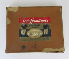 Vintage Parker Brothers Tom Hamilton's Pigskin Football Game from 1935