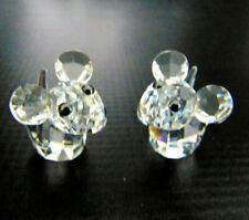 NEW Swarovski CRYSTAL Lovlots JOE & HARRY MICE (2) Mouse FIGURINES w/ Box & COA!