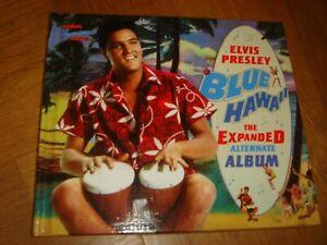 "ELVIS PRESLEY rare superb ""Blue Hawaii, Expanded Album  "" CD in book/box set"