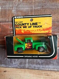 1978 Kidco Die Cast County Line Pick Me Up Truck No 102 Ford Motors Green