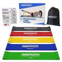 5er Set Fitnessbänder / Widerstandsbänder Panathletic Gymnastikbänder  eBook NEU