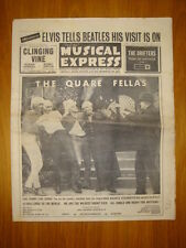 NME #921 1964 SEP 4 QUARE FELLAS ELVIS BEATLES VISIT