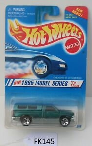 Hot wheels 1995 Model Series Dodge Ram 1500 7/12 #348 Green FNQHotwheels FK145