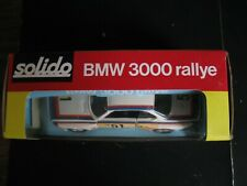 SOLIDO BMW 3000 RALLYE 1/43 N°25 DANS SA BOITE D'ORIGINE