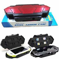 New Armor Steel Carry Storage Case Bag Box For Sony PlayStation PS Vita1000/2000