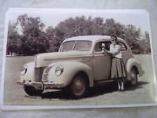 1940 FORD 2DR SEDAN  11 X 17  PHOTO  PICTURE
