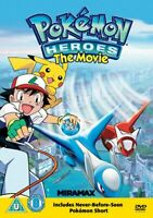 Pokémon - The Movie: 5 - Pokemon Heroes [DVD] Gift Idea NEW Kids Film Official
