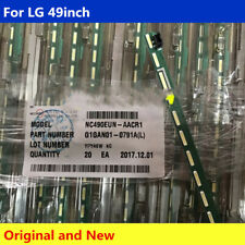 "1kit=2pcsLED Backlight bars LG49"" FHD L+R LC490EUE NC490EUE HC490EUE MAK63267301"