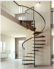 brand new artemis spiral staircase and circular balustrade kit 1200mm diameter