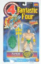 TOY BIZ 1995 FANTASTIC FOUR NAMOR ACTION FIGURE W/ UNDERSEA TRIDENT AND SHIELD