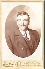 CAB photo Feiner Herr - Iron Mountain USA 1900er