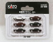 Kato N 23500 Toyota Crown Automobiles 6pcs. New