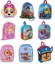 Official Paw Patrol Kids Boys Girls Backpack School Nursery Gym Bag Rucksack