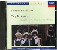 Gilbert & Sullivan: Mikado (selection) / The D'D'Oyly Cards Opera Company - CD