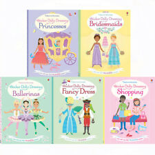 Sticker Dolly Dressing Series 1 Collection 3 Books Set  By Fiona Watt Ballerinas