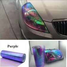 "12""x84"" Chameleon Purple Color Car Headlight Taillight Fog Light Vinyl Tint Film"
